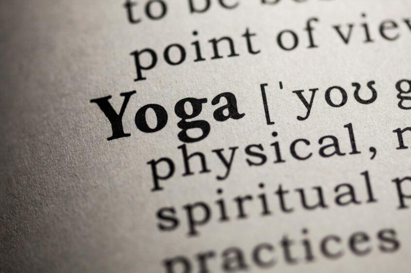 Yoga Dictionary Calm With Yoga